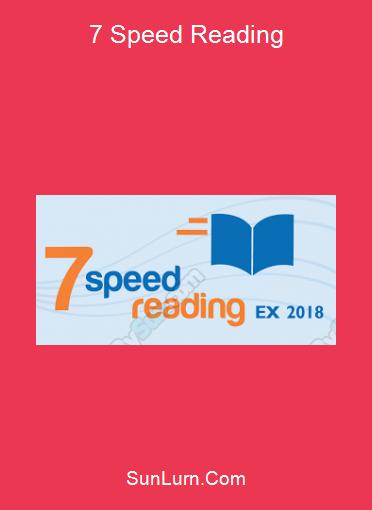7 Speed Reading