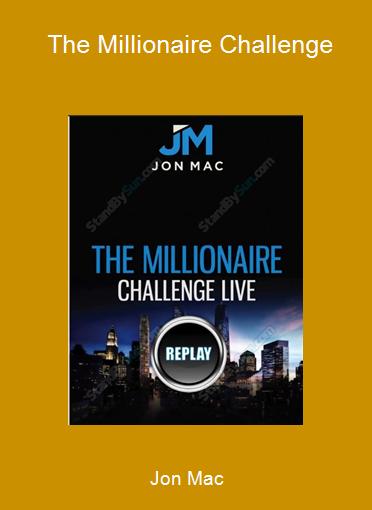 Jon Mac - The Millionaire Challenge