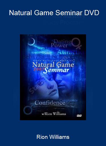 Rion Williams - Natural Game Seminar DVD
