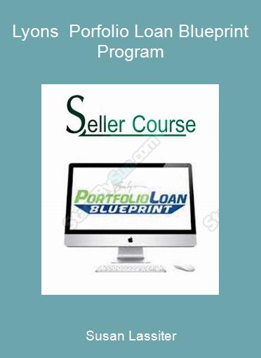 Susan Lassiter-Lyons - Porfolio Loan Blueprint Program
