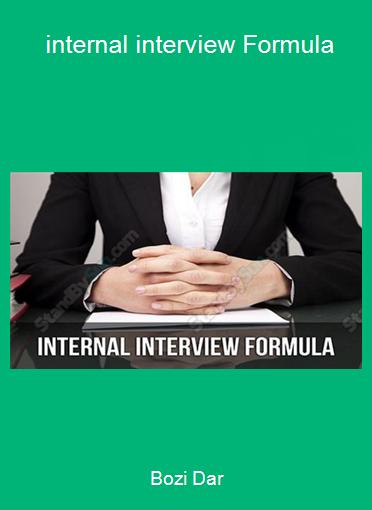 Bozi Dar - internal interview Formula