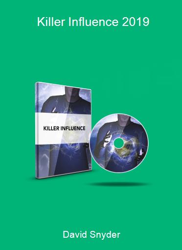 David Snyder - Killer Influence 2019
