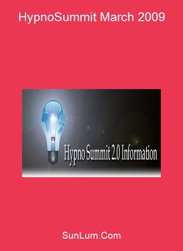 HypnoSummit March 2009