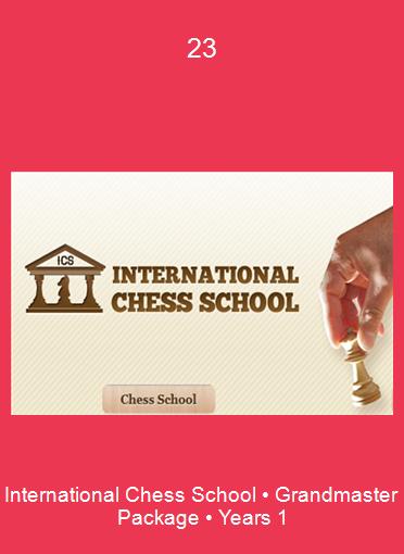 International Chess School • Grandmaster Package • Years 1-2-3