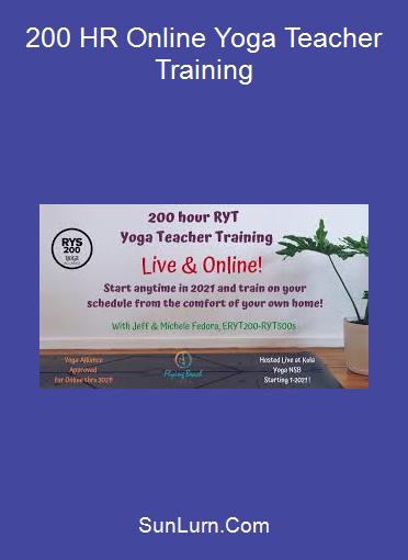 200 HR Online Yoga Teacher Training