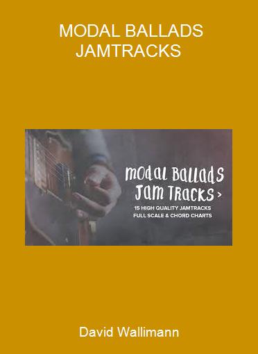 David Wallimann - MODAL BALLADS JAMTRACKS