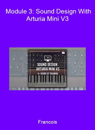 Francois - Module 3: Sound Design With Arturia Mini V3