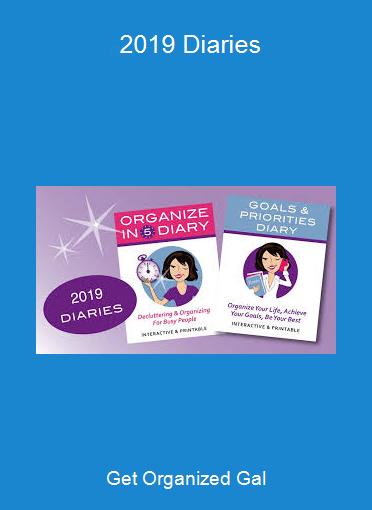 Get Organized Gal - 2019 Diaries