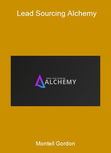 Montell Gordon - Lead Sourcing Alchemy