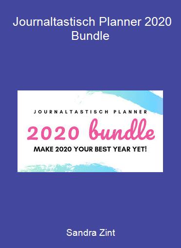 Sandra Zint - Journaltastisch Planner 2020 Bundle