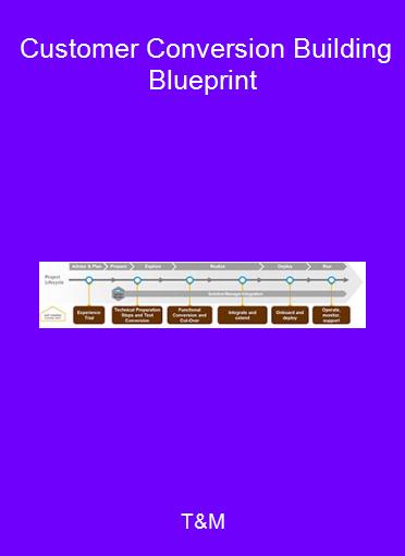 T&M - Customer Conversion Building Blueprint