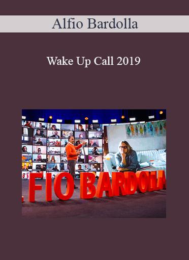 Alfio Bardolla - Wake Up Call 2019