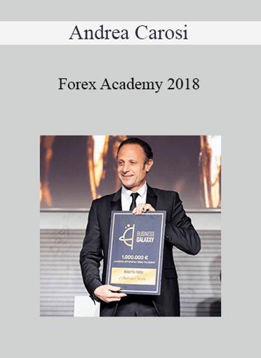 Andrea Carosi - Forex Academy 2018