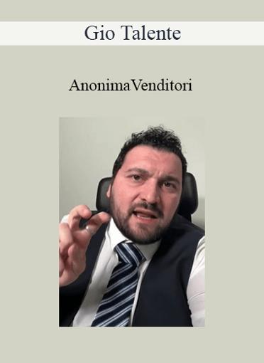 Gio Talente - AnonimaVenditori