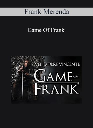 Frank Merenda - Game Of Frank