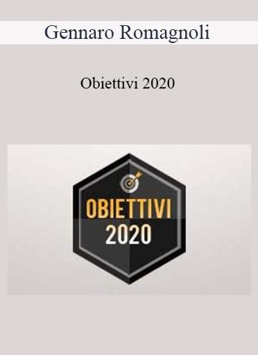Gennaro Romagnoli - Obiettivi 2020