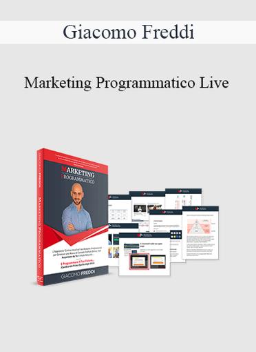 Giacomo Freddi - Marketing Programmatico Live