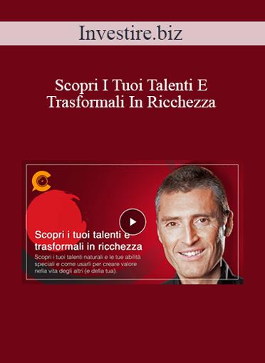 Italo Cillo - Scopri I Tuoi Talenti E Trasformali In Ricchezza