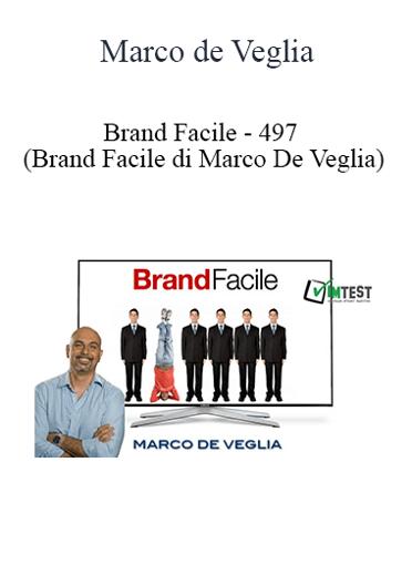 Marco de Veglia - Brand Facile - 497
