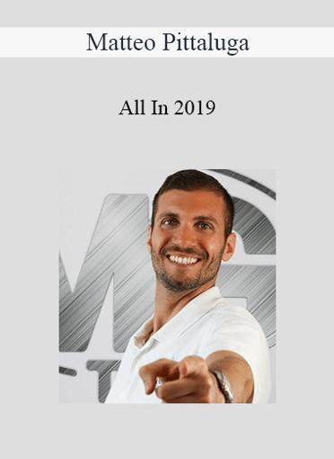 Matteo Pittaluga - All In 2019