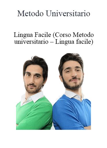 Metodo Universitario - Lingua Facile