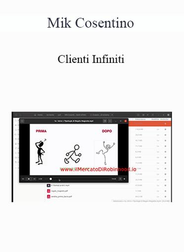 Mik Cosentino - Clienti Infiniti