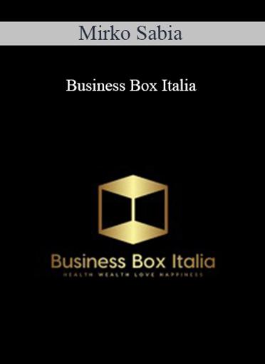 Mirko Sabia - Business Box Italia
