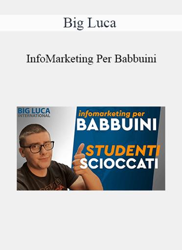 Big Luca - InfoMarketing Per Babbuini