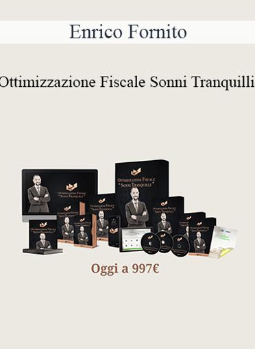 Enrico Fornito - Ottimizzazione Fiscale Sonni Tranquilli