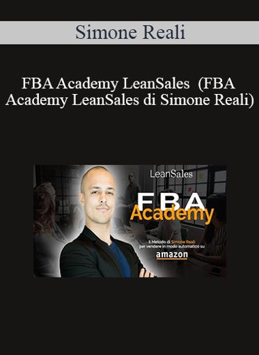 Simone Reali - FBA Academy LeanSales