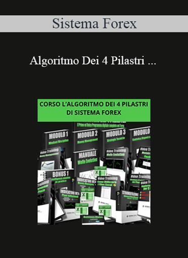 Sistema Forex - Algoritmo Dei 4 Pilastri