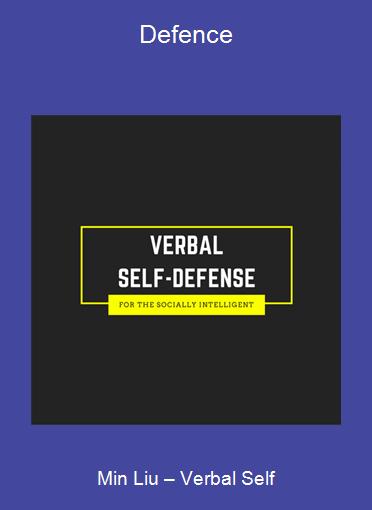 Min Liu – Verbal Self-Defence