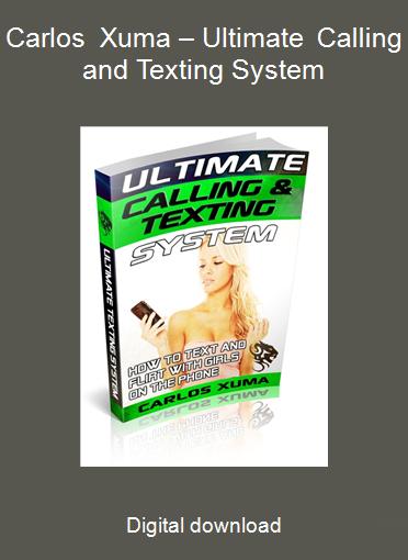 Carlos Xuma – Ultimate Calling and Texting System